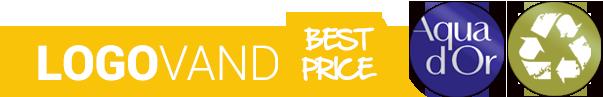 Logovand Best Price - Kildevand med dit budskab