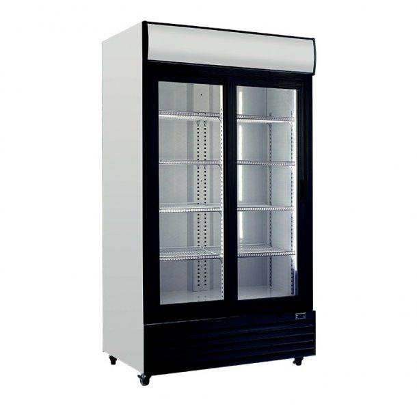køleskab med 2 låger