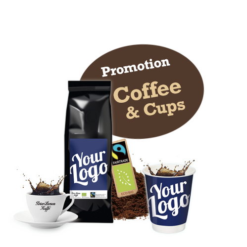 Branded coffee - Your branding on fairtrade, arabica coffee