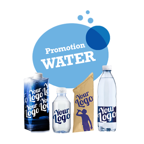 Promotion water or branded water water bottles with mineral water