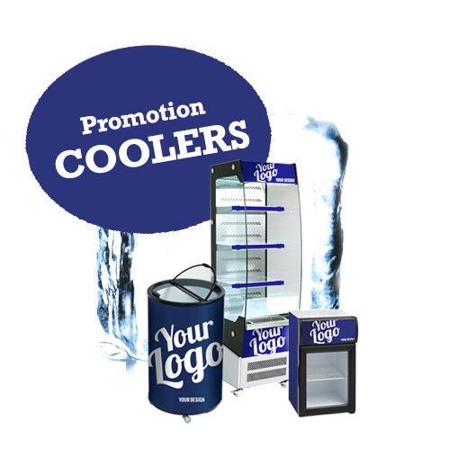 Branded coolers - Your logo on the cooler / fridge