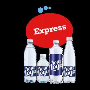 Logovand med hurtig levering