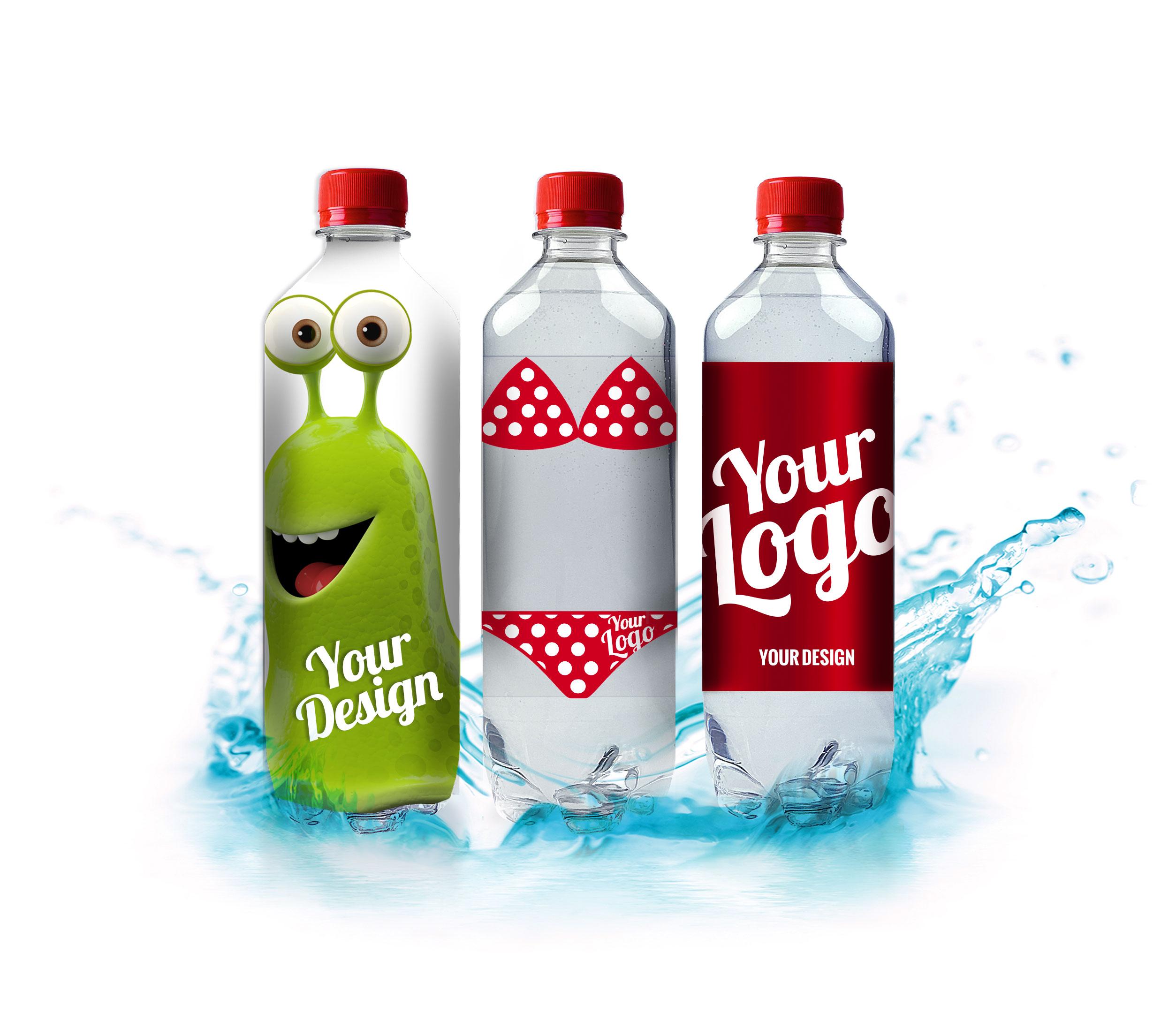 Advertising water from Aquadana Denmark